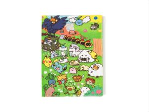 「Pokémon Yurutto」シリーズ第3弾「スライダー付き6ポケットA4クリアファイル Pokémon Yurutto」