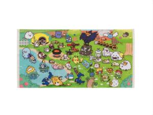 「Pokémon Yurutto」シリーズ第3弾「ミニバスタオル Pokémon Yurutto」