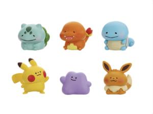 「Pokémon Yurutto」シリーズ第3弾「フィギュアコレクション Pokemon Yurutto Vol.3」