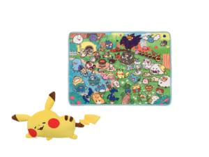 「Pokémon Yurutto」シリーズ第3弾「ブランケットインクッション Pokémon Yurutto ピカチュウ」
