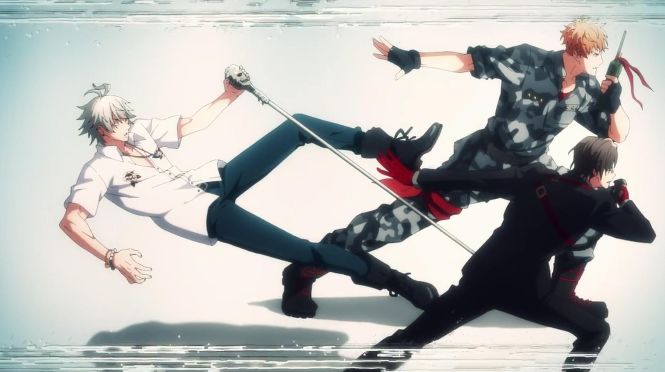 TVアニメ「ヒプマイ」11話感想 マットリvs麻天狼の決勝がついにスタート!乱数は中王区から脱走する決意を決める