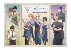 劇場版「Fate/Grand Order -神聖円卓領域キャメロット-」 CAFE&DINER カフェご来店ノベルティ:A3サイズランチョンマット