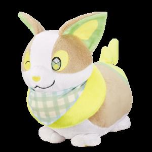 「ポケットモンスター」新作一番くじ「Pokémon anytime ~Sunny picnic~」B賞 ほっぺぎゅっ♪ワンパチぬいぐるみ