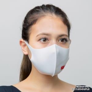 「幽☆遊☆白書 ぴったりマスク」ロゴ(ホワイト)