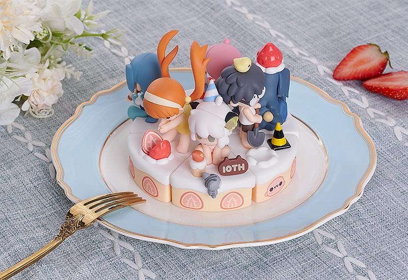 10周年をお祝い♪「羅小黒戦記」ケーキにちょこんと座った姿がかわいいトレーディングフィギュア登場!ミニ収納ケースとしても使用可能