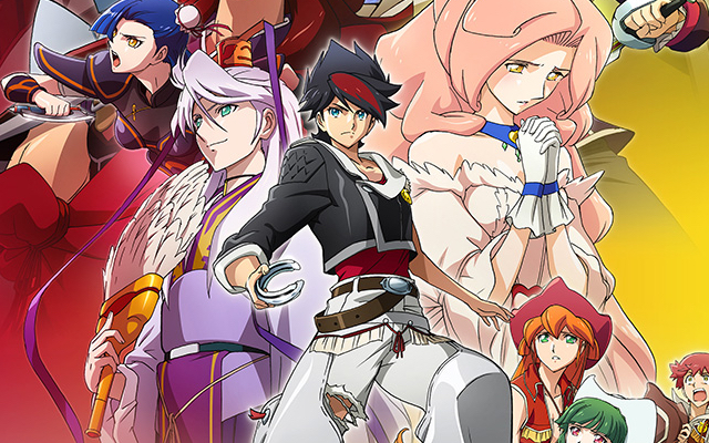 TVアニメ「バック・アロウ」第3弾キービジュアル&「エッジャ村編」PV公開!