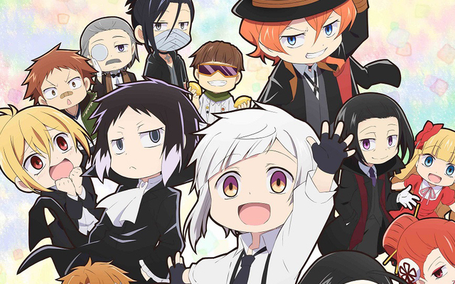 TVアニメ「文豪ストレイドッグス わん!」武装探偵社&ポートマフィアメンバーが集結したキービジュアル公開!