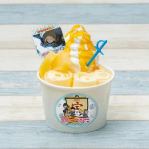 TVアニメ「炎炎ノ消防隊 弐ノ章」×「ROLL ICE CREAM FACTORY」新春開運コラボカフェ アーサーのパイナップルロールアイス
