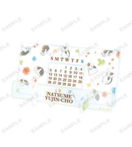 ニャンコ先生 Ani-Art 第3弾 卓上アクリル万年カレンダー(全1種)