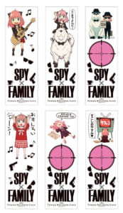 『SPY×FAMILY』× TOWER RECORDS CAFE3点セット特典:クリアブックマーク
