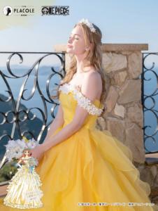 「ONE PIECE」オリジナルウェディングドレス ナミ