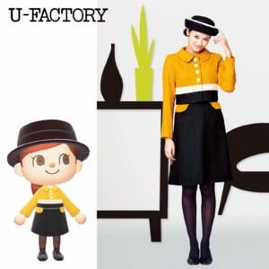 「あつまれどうぶつの森」マイデザイン「U-FACTORY」