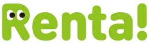 「Renta!」ロゴ