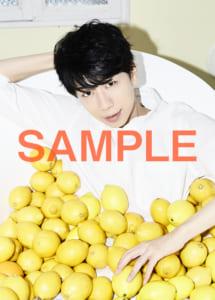 西山宏太朗さんフォトブック「たろりにすと」通常版特典 クリアファイル(たろレモン)