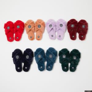 「R4G」×「ディズニー ツイステッドワンダーランド」Roomy fluffy slippers