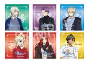 「劇場版 Fate/Grand Order -神聖円卓領域キャメロット- × OIOI」トレーディングミニ色紙(全6種)