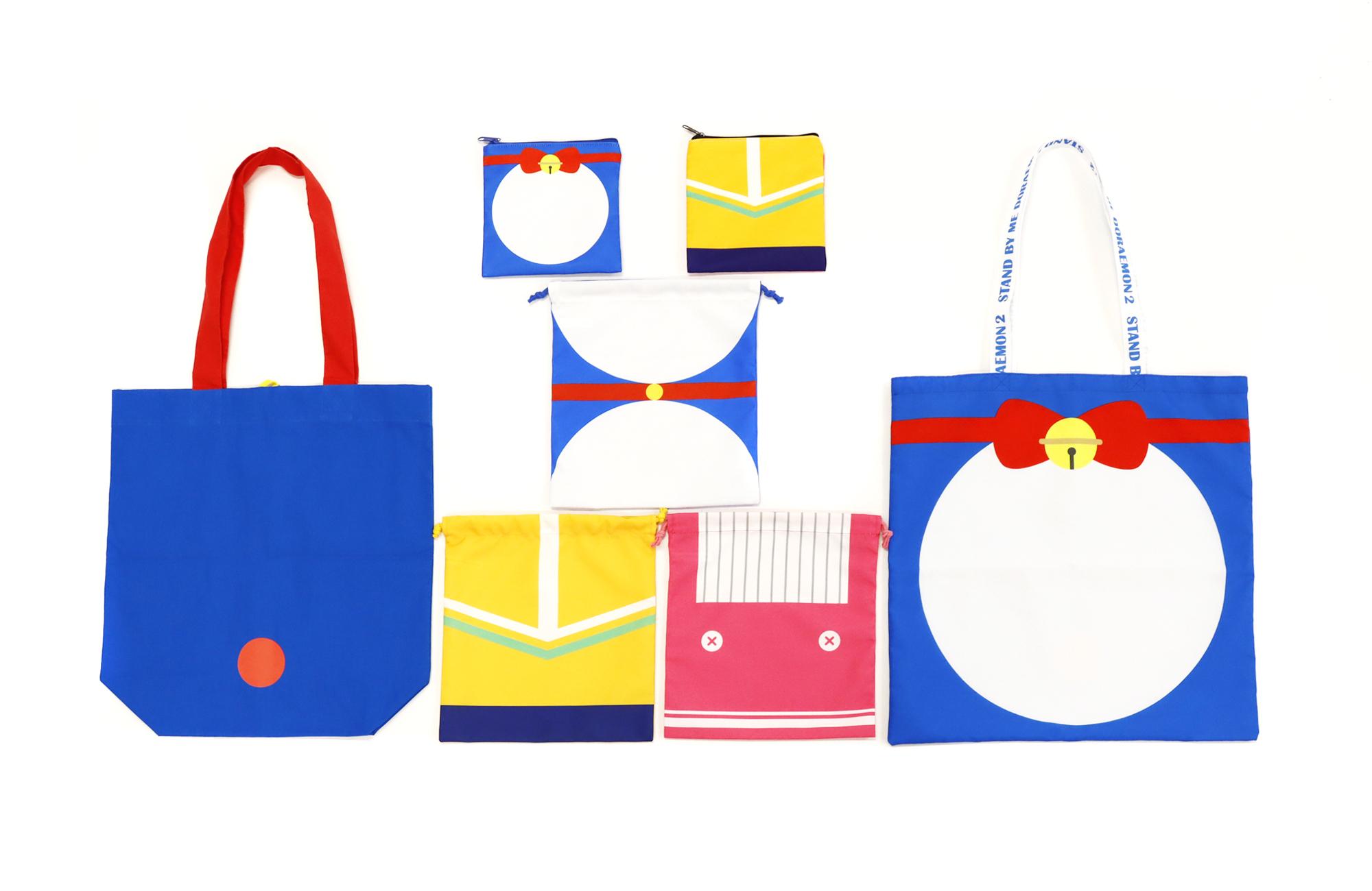「ドラえもん」SPコレクションが「ASOKO」に登場!メインキャラの洋服をイメージしたタオル・ポーチ・トートバッグなど