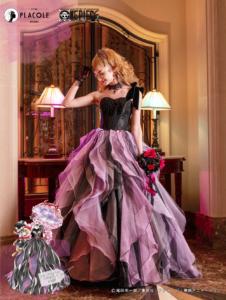 「ONE PIECE」オリジナルウェディングドレス ペローナ