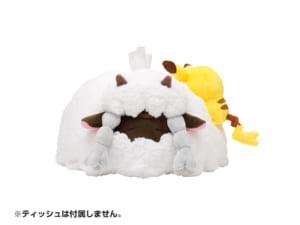 「Pokémon Yurutto」シリーズの第3弾ティッシュボックスカバー