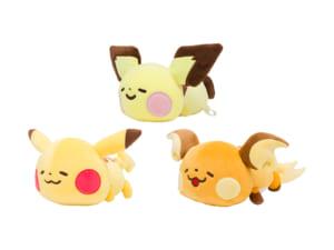 「Pokémon Yurutto」シリーズの第3弾ぬいぐるみ