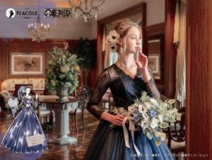 「ONE PIECE」オリジナルウェディングドレス ロビン