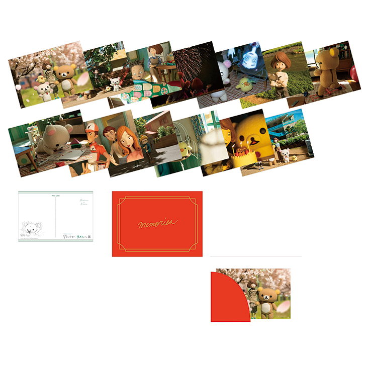 カオルさんのアルバムポストカードセット (本体:約タテ14.8×ヨコ10cm、全13枚入)1,650円 <西武池袋本店限定>