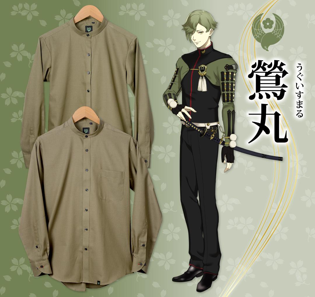 刀剣乱舞-ONLINE-コラボシャツ 鶯丸