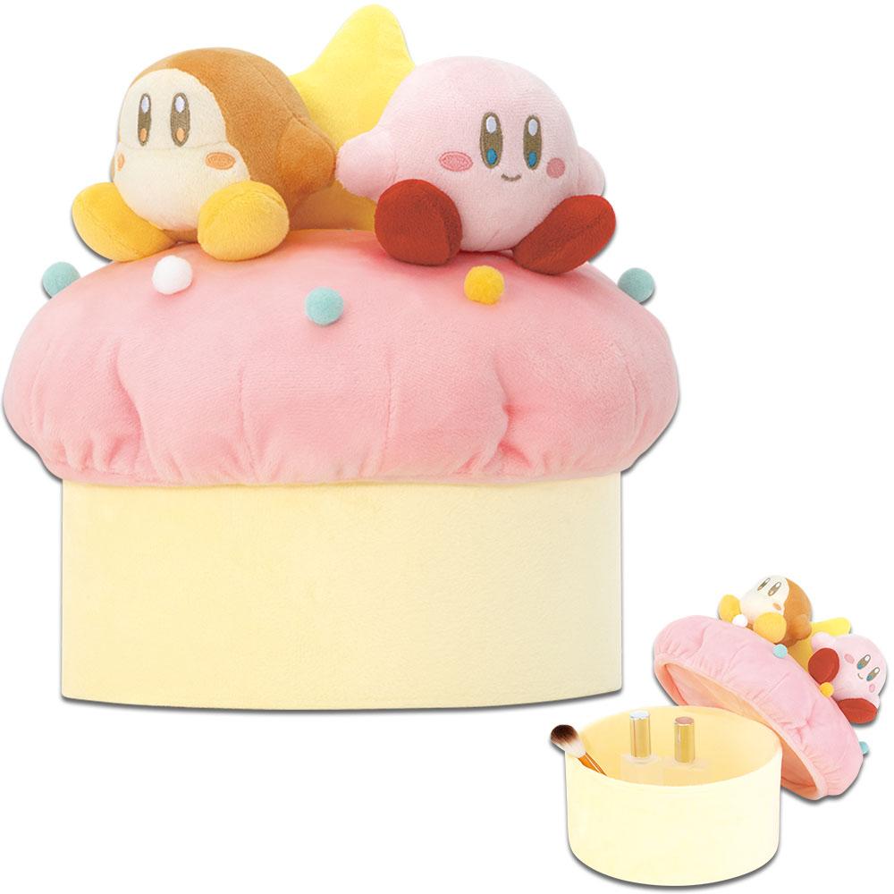 「一番くじ 星のカービィ あま~いひととき。」ラストワン賞 カップケーキのぬいぐるみボックス