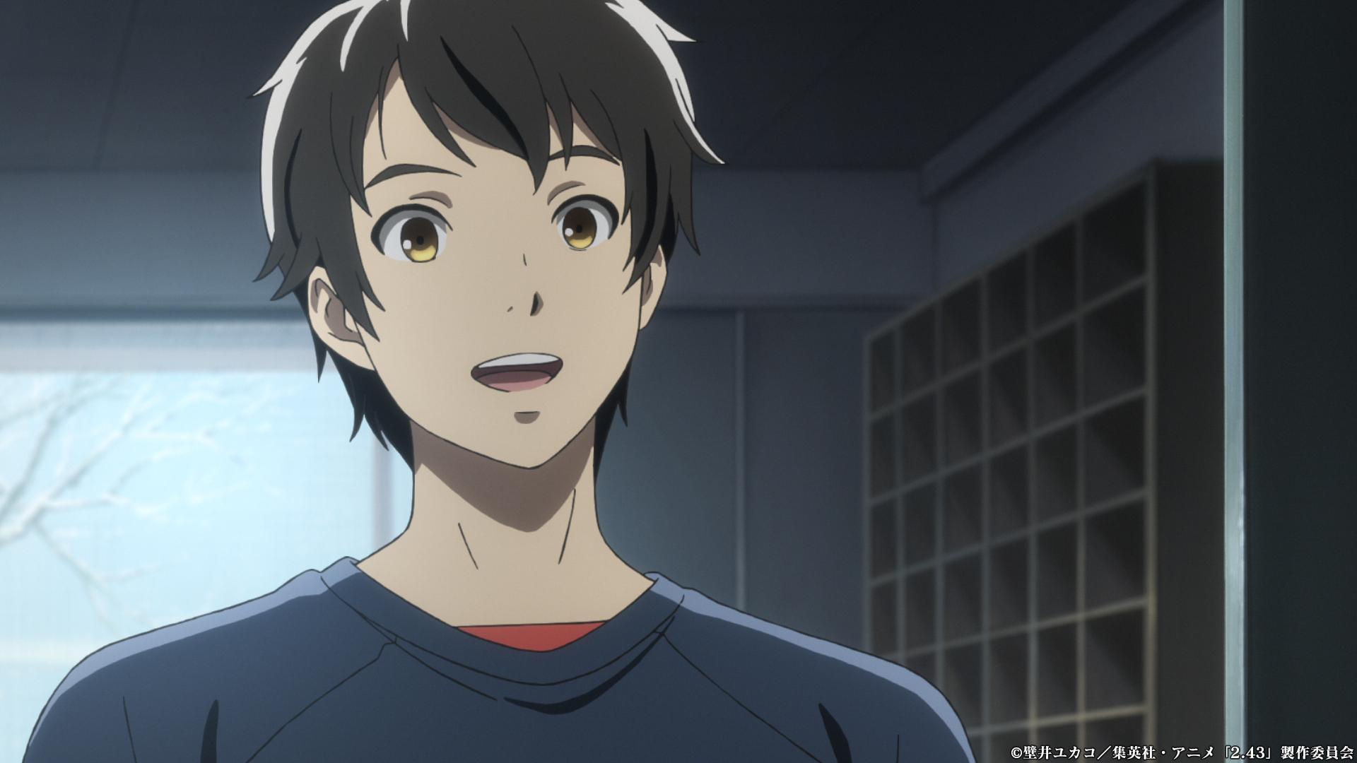 TVアニメ「2.43清陰高校男子バレー部」第2話「最高で最低のプレイメイカー」場面写1