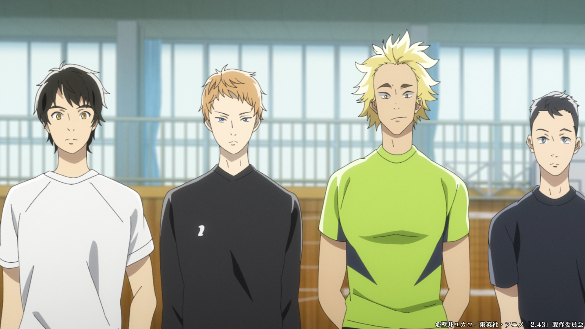 TVアニメ「2.43清陰高校男子バレー部」第4話「高く、はやく、強く」感想