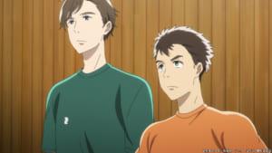 TVアニメ「2.43清陰高校男子バレー部」第4話「高く、はやく、強く」場面カット