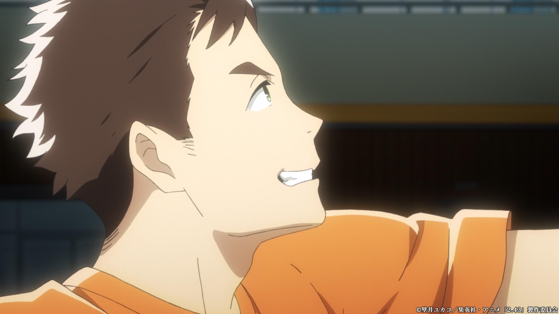 TVアニメ「2.43清陰高校男子バレー部」第3話「犬の目線とキリンの目線」感想