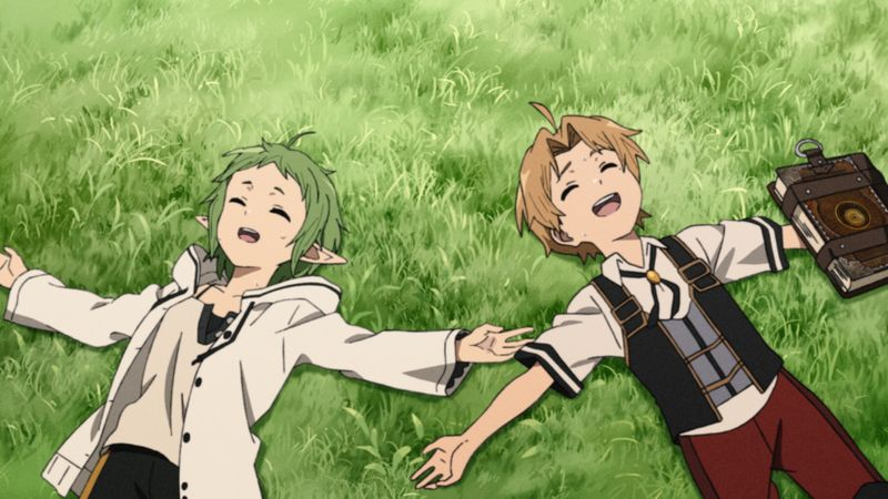 TVアニメ「無職転生 ~異世界行ったら本気だす~」第3話「友達」あらすじ&先行カット到着!この世界で初めての友達ができる