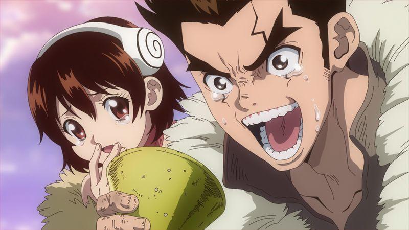 TVアニメ「Dr.STONE」第2期・第3話「死者からの電話」あらすじ&先行カット到着!大樹と杠に電話越しで再会