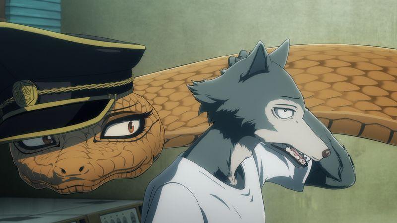 TVアニメ「BEASTARS」第2期 第14話のあらすじ&先行カット到着!レゴシピンチ!?巨大ガラガラヘビが登場