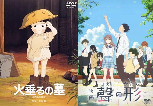 「ガチで泣ける単発アニメ映画ランキング」が発表!ジブリ・京アニ・細田守監督作品など名作がランクイン