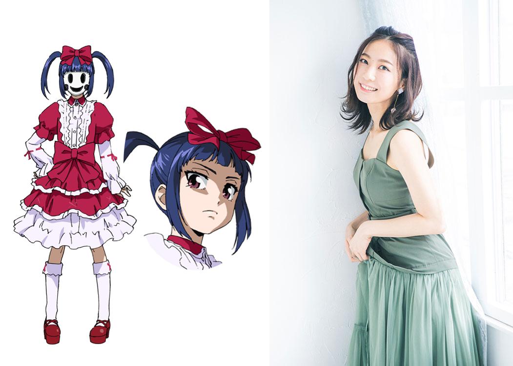 Netflixオリジナルアニメシリーズ「天空侵犯」アイン役・安済知佳さん