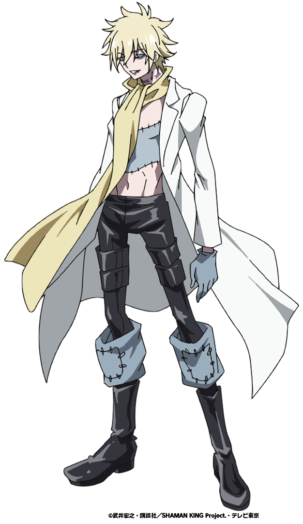 TVアニメ「SHAMAN KING」ドイツ出身のネクロマンサー・ファウストⅧ世役は子安武人さんが続投!