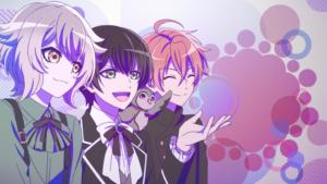 TVアニメ『アイ★チュウ』「エンドカードコレクションセットvol.1 F∞F」ノンクレジットED場面カット
