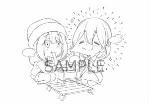 「ゆるキャン△ SEASON2」 Blu-ray&DVD店舗別特典・上新電機