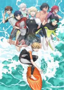 TVアニメ「WAVE!!〜サーフィンやっぺ!!〜」キービジュアル