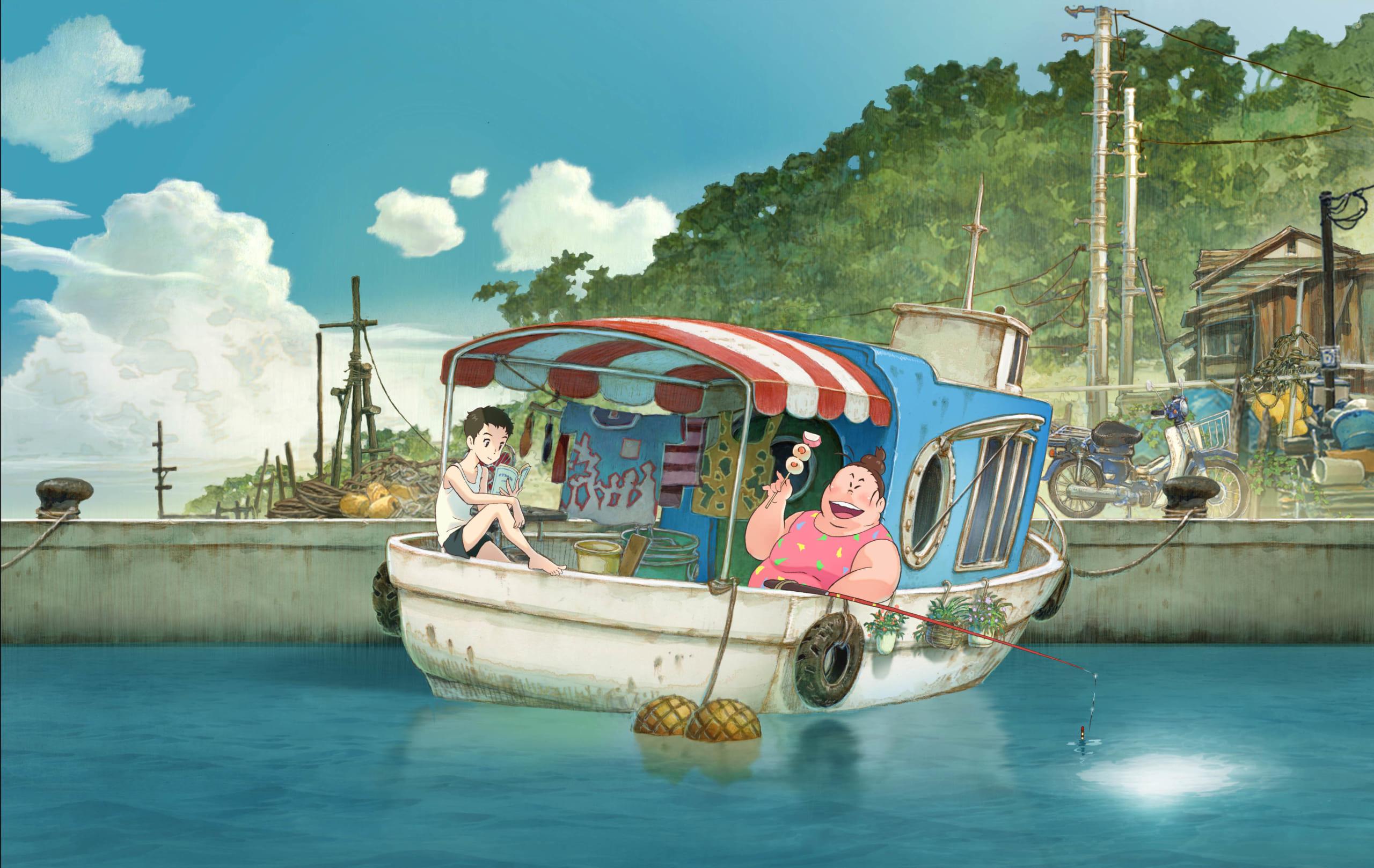 明石家さんまさんプロデュースのアニメ映画「漁港の肉子ちゃん」2021年初夏公開決定!花江夏樹さんの出演も明らかに