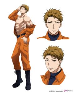 TVアニメ「指先から本気の熱情 2-恋人は消防士-」泉友貴