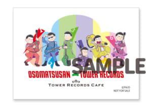 「おそ松さん × TOWER RECORDS」ステッカー特典