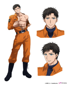 TVアニメ「指先から本気の熱情 2-恋人は消防士-」水野颯馬