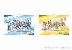 「新テニスの王子様 氷帝vs立海 Game of Future 公開記念 POP UP SHOP@ OIOI ~Dash & Work experience~」マルイノアニメオンラインショップ特典 ポストカード(全2種)