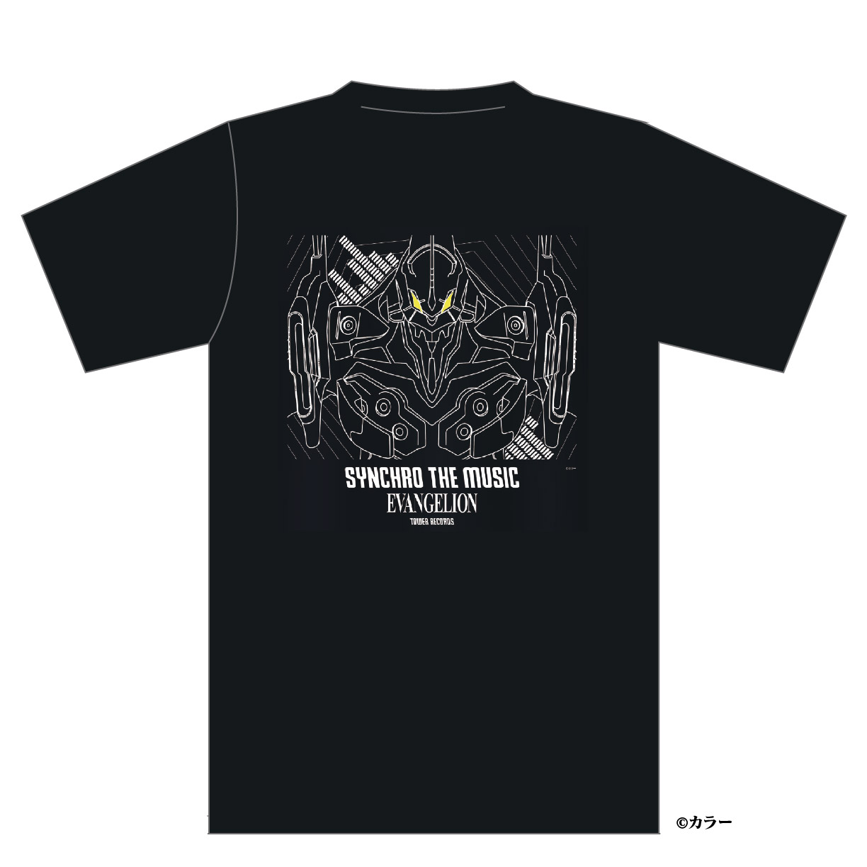 「シン・エヴァンゲリオン劇場版 × TOWER RECORDS」コラボグッズ「Tシャツ初号機」
