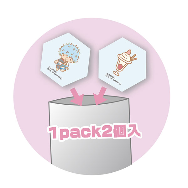 銀魂 × Sanrio characters トレーディング積み積みブロック