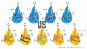 「新テニスの王子様 氷帝vs立海 Game of Future 公開記念 POP UP SHOP@ OIOI ~Dash & Work experience~」連結アクリルチャーム(全9種)