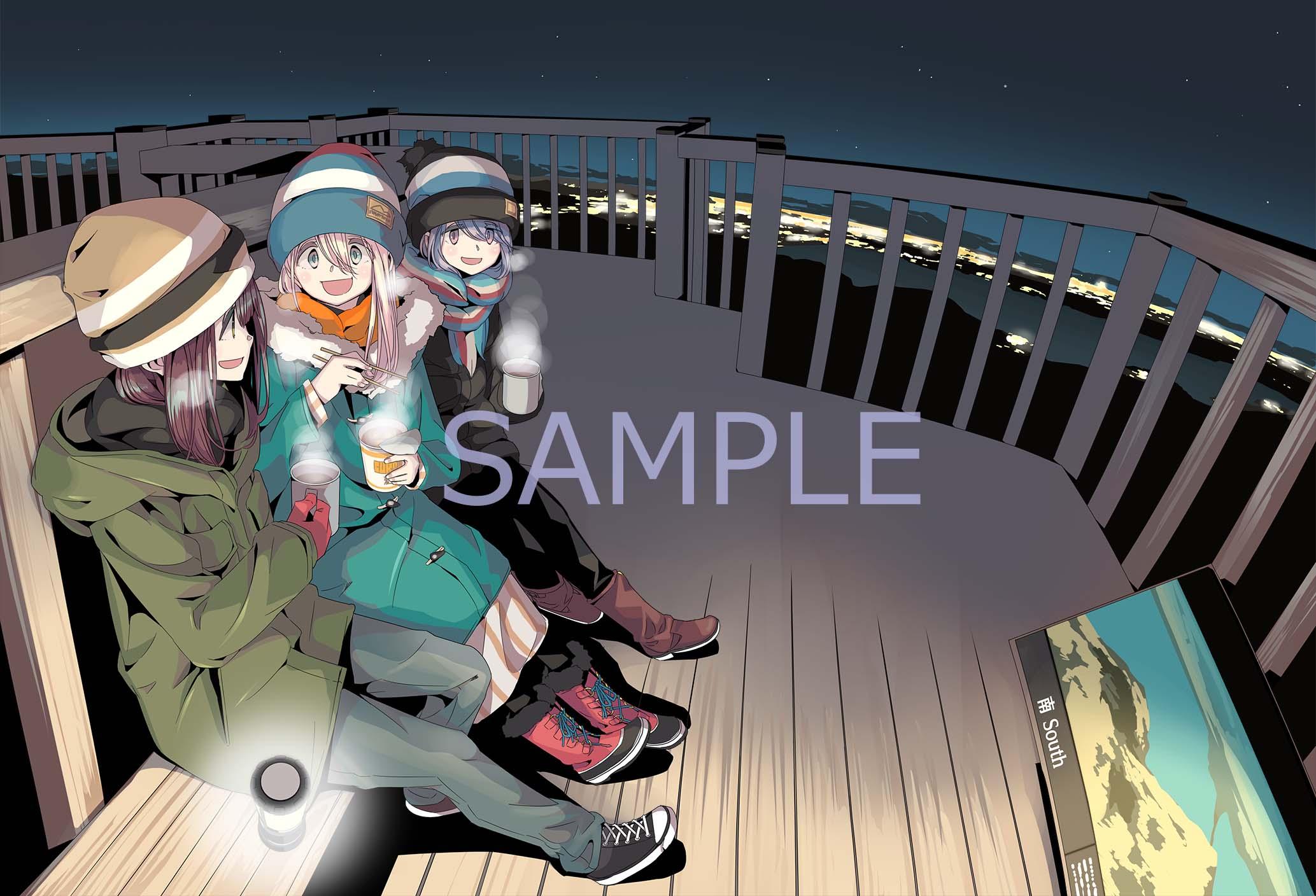 TVアニメ「ゆるキャン△SEASON2」Blu-ray&DVD全3巻発売決定!店舗別特典のデザイン画像も解禁